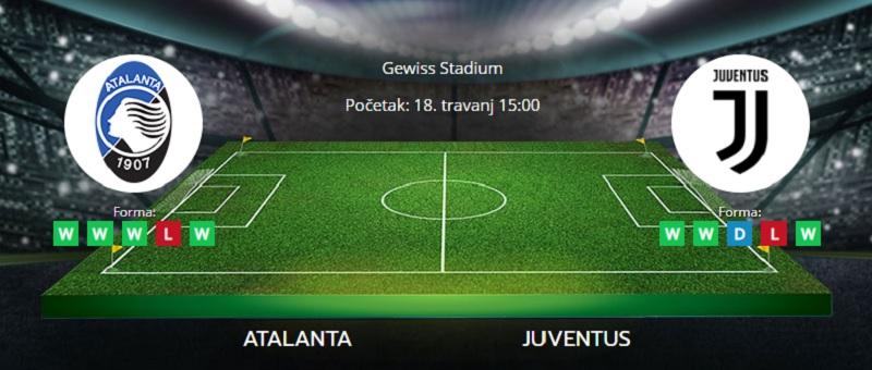 Tipovi za Atalanta vs. Juventus 18. travanj 2021 - Serie A