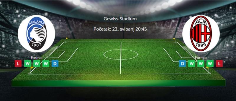 Tipovi za Atalanta vs. Milan 23. svibanj 2021 - Serie A