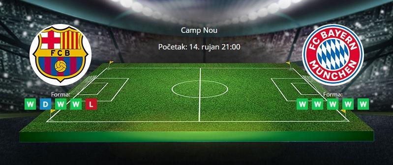 Tipovi za Barcelona vs. Bayern, 14. rujan 2021., Liga prvaka