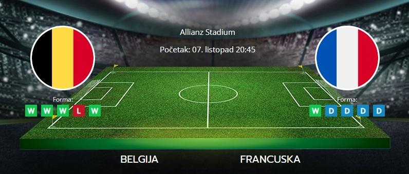 Tipovi za Belgija vs. Francuska, 7. listopad 2021., Liga nacija