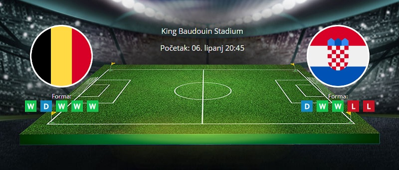 Tipovi za Belgija vs. Hrvatska, 6. lipanj 2021, prijateljska utakmica