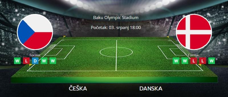 Tipovi za Češka vs. Danska, 3. srpanj 2021., Europsko prvenstvo