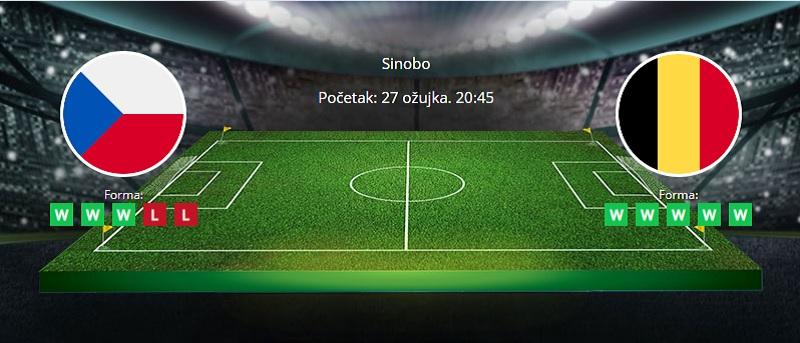 Tipovi za Češka vs. Belgija 27. ožujak 2021 - kvalifikacije SP