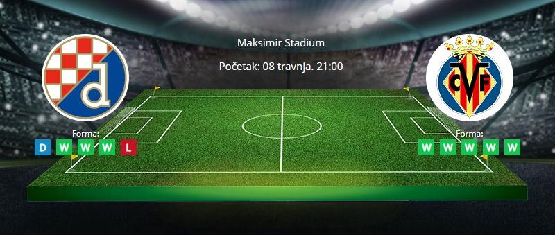 Tipovi za Dinamo vs Villarreal 8. travanj 2021 - Europska liga
