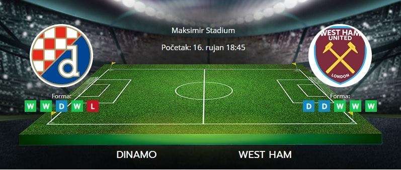 Tipovi za Dinamo vs. West Ham, 16. rujan 2021., Europska liga