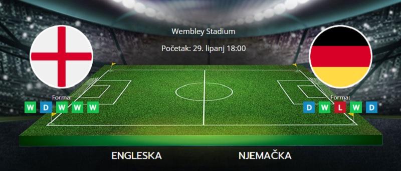 Tipovi za Englesku vs. Njemačku, 29. lipanj 2021., Europsko prvenstvo