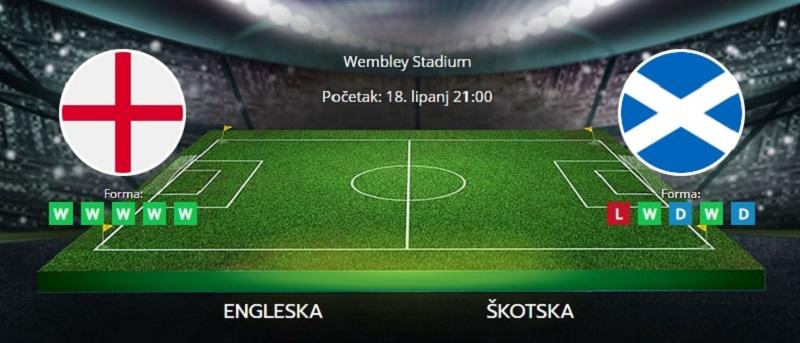 Tipovi za Engleska vs. Škotska, 18. lipanj 2021., Europsko prvenstvo