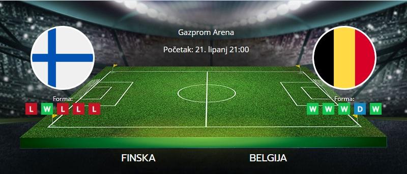 Tipovi za Finska vs. Belgija, 21. lipanj 2021., Europsko prvenstvo