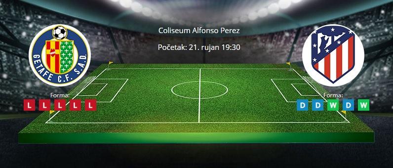 Tipovi za Getafe vs. Atletico, 19. rujan 2021., La liga