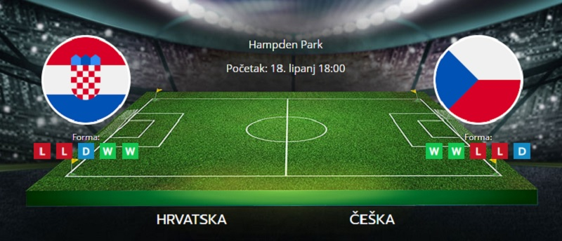 Tipovi za Hrvatska vs. Češka, 18. lipanj, Europsko prvenstvo