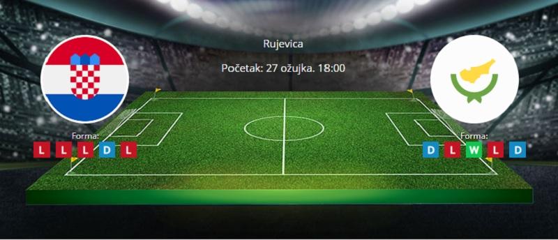 Tipovi za Hrvatska vs. Cipar 27. ožujak 2021 - kvalifikacije SP