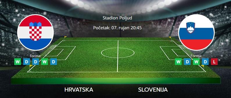 Tipovi za Hrvatska vs. Slovenija, 7. rujan 2021., kvalifikacije za SP