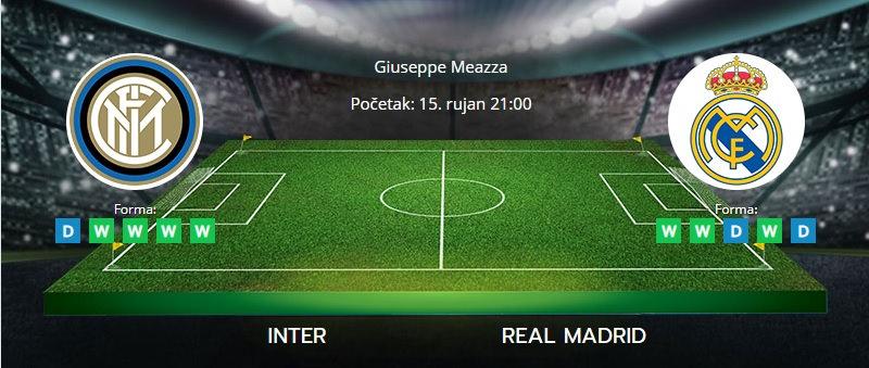 Tipovi za Inter vs. Real Madrid, 15. rujan 2021., LIga prvaka