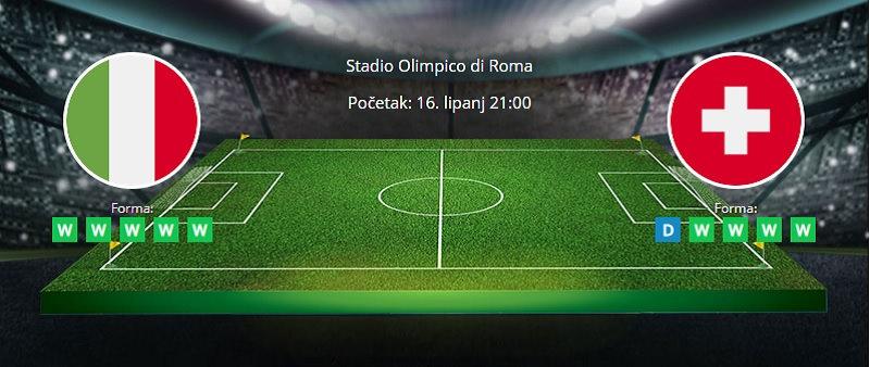 Tipovi za Italija vs. Švicarska, 16. lipanj, Europsko prvenstvo