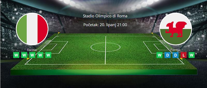 Tipovi za Italija vs. Wales, 20. lipanj 2021., Europsko prvenstvo