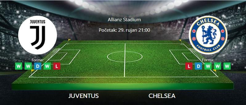 Tipovi za klađenje Juventus vs. Chelsea, 29. rujan 2021., Liga prvaka