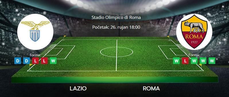 Tipovi za Lazio vs. Roma, 26. rujan 2021., Serie A