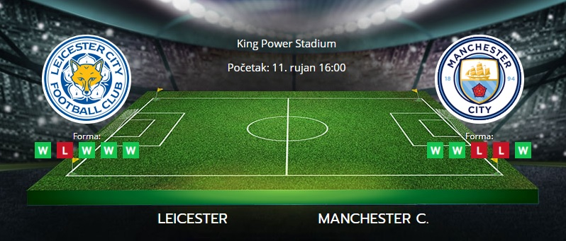 Leicester vs. Manchester City, 11. rujan 2021., Premiership