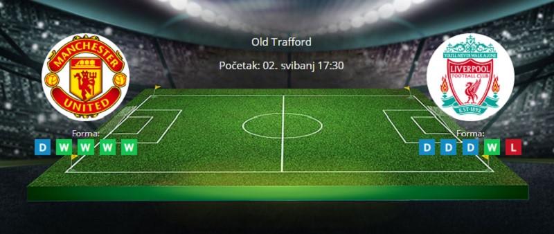 Tipovi za Manchester U. vs Liverpool 2. svibanj 2021. - Premiership