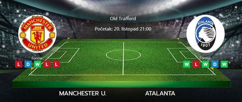 Tipovi za Manchester U. vs Atalanta, 20. listopad 2021., Liga prvaka