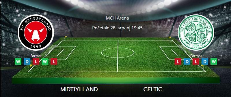 Tipovi za Midtjylland vs. Celtic, 28. srpanj 2021., Liga prvaka