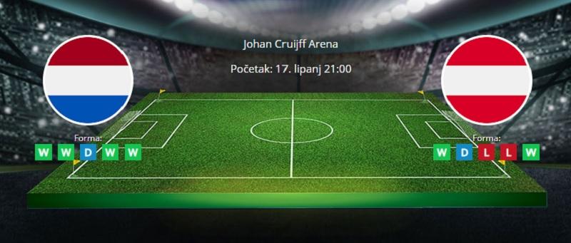Tipovi za Nizozemska vs. Austrija. 17. lipanj, Europsko prvenstvo