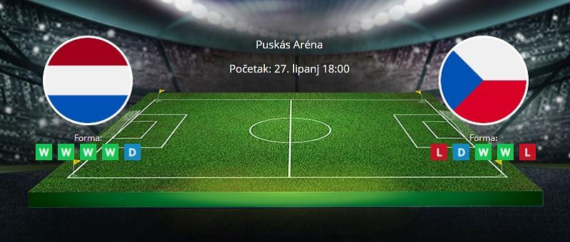 Tipovi za Nizozemska vs. Češka, 27. lipanj 2021., Europsko prvenstvo