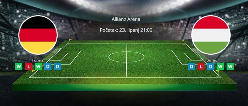 Njemačka vs. Mađarska, 23. lipanj 2021., Europsko prvenstvo