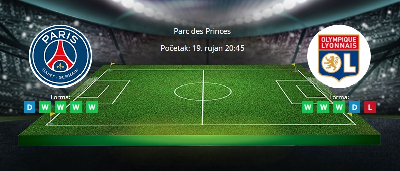 Tipovi za PSG vs. Lyon, 19. rujan 2021., Ligue 1