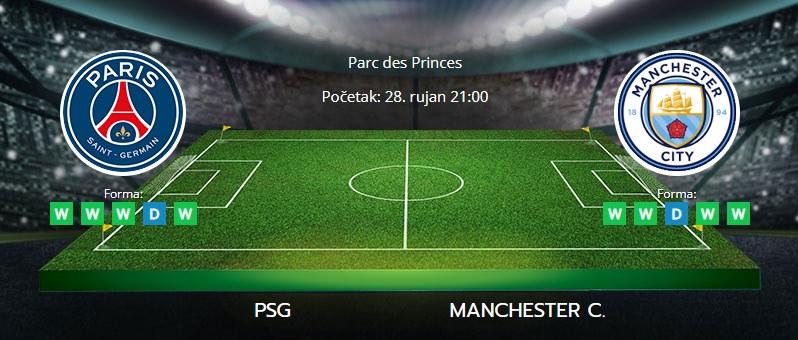 Tipovi za PSG vs. Manchester City, 28. rujan 2021., Liga prvaka
