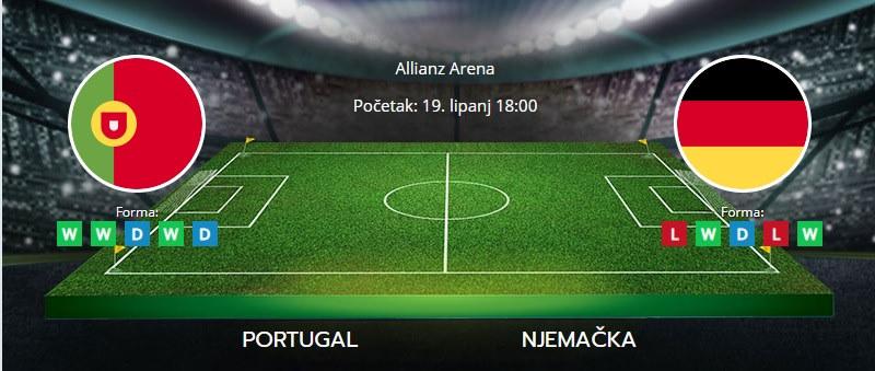 Portugal vs. Njemačka, 19. lipanj 2021., Europsko prvenstvo