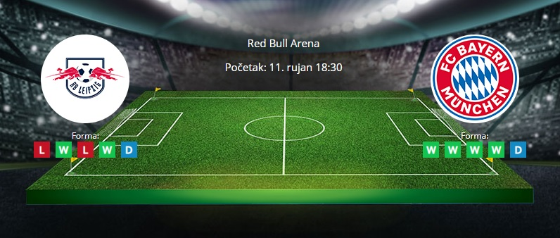 Tipovi za RB Leipzig vs. Bayern, 11. rujan 2021., Bundesliga