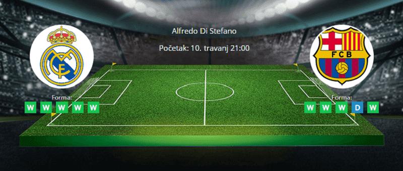 Tipovi za Real vs. Barcelona 10. travanj 2021 - La Liga