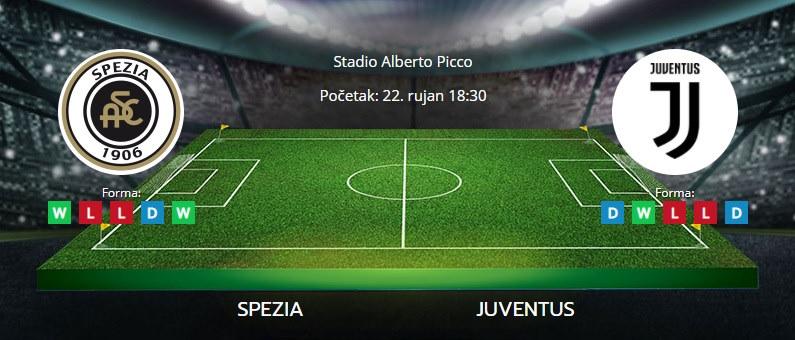 Tipovi za Spezia vs. Juventus, 22. rujan 2021., Serie A