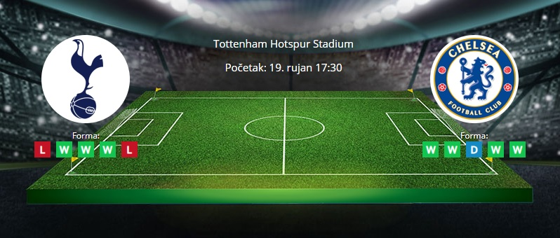Tipovi za Tottenham vs. Chelsea, 16. rujan 2021., Premiership