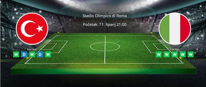 Tipovi za Turska vs Italija, 11. lipanj 2021., Europsko prvenstvo