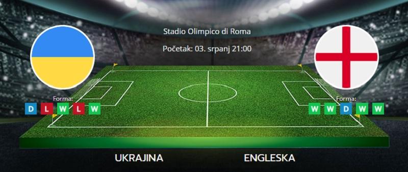 Tipovi za Ukrajina vs. Engleska, 3. srpanj 2021., Europsko prvenstvo
