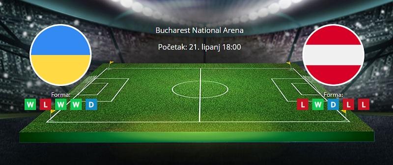 Tipovi za Ukrajina vs. Austrija, 21. lipanj 2021. Europsko prvenstvo