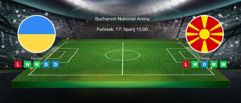Tipovi za Ukrajina vs. Sjeverna Makedonija, 17. lipanj 2021., Europsko prvenstvo