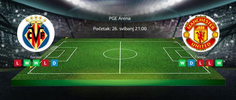 Tipovi za Villarreal vs. Manchester United, 26. svibnja 2021., finale Europske lige