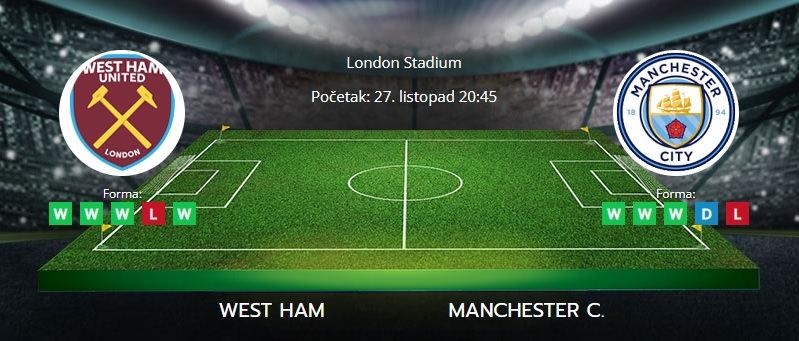 Tipovi za West Ham vs. Manchester City, 27. listopad 2021., EFL Cup