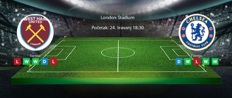Tipovi za West Ham vs. Chelsea 24. travanj 2021. - Premiership