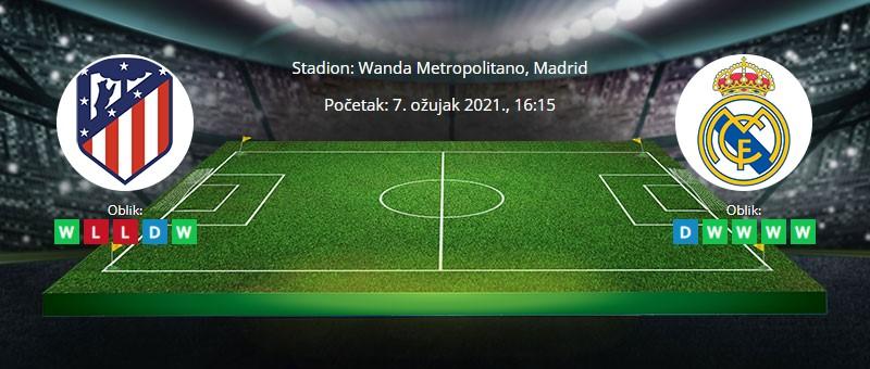 Atletico M. vs Real Madrid – Tipovi za klađenje – 7.3.2021.