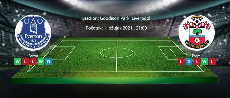 Everton vs Southampton – Najava i tipovi za klađenje – 1.3.2021.