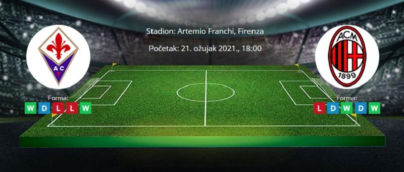 Fiorentina - Milan – Tipovi za klađenje