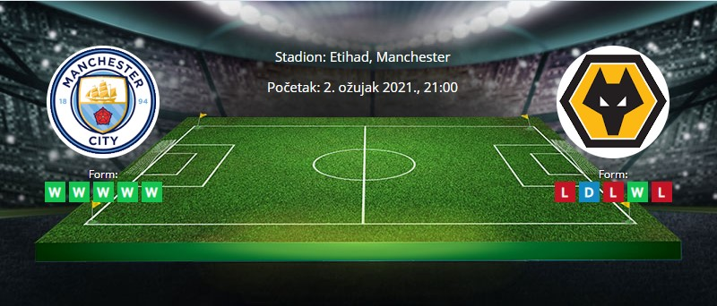 Manchester City vs Wolverhampton – Tipovi za klađenje - 02.03.2021