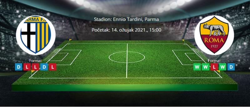 Parma vs. Roma – Najava i tipovi za klađenje – 14.3.2021