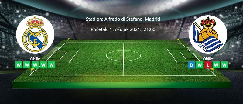 Real Madrid vs Real Sociedad – Tipovi za klađenje – 1.3.2021.